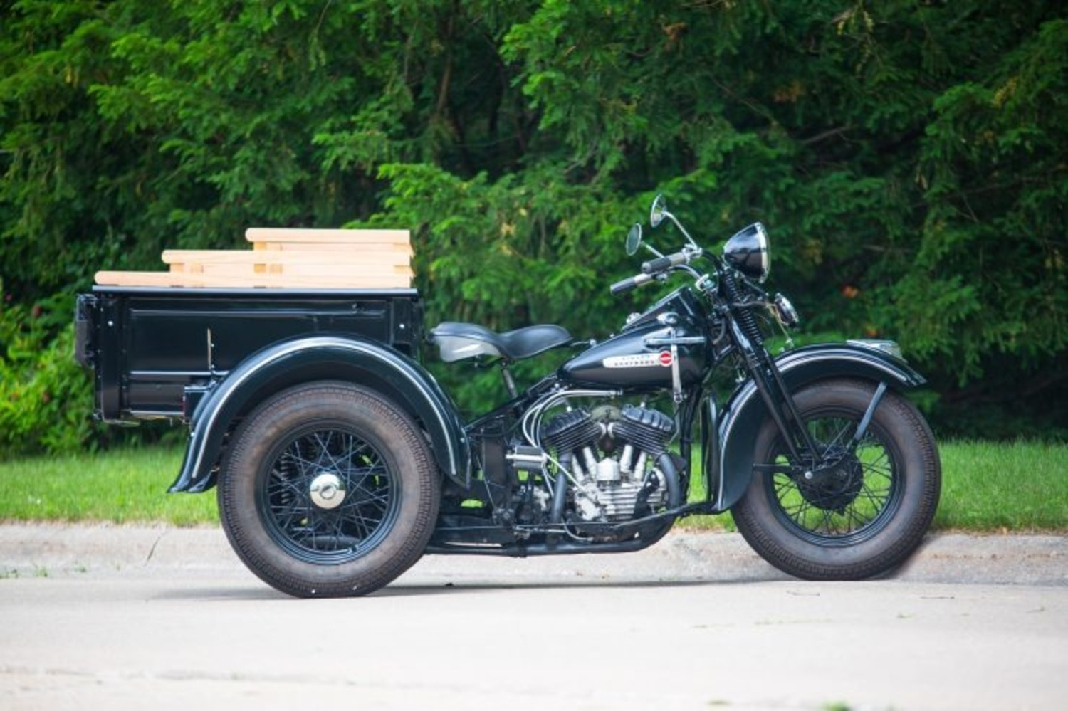 Harley-Davidson Servi-Car 1947 all'asta