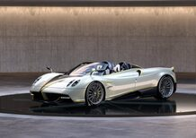 Huayra Roadster Gyrfalcon. Svelata a Pebble Beach