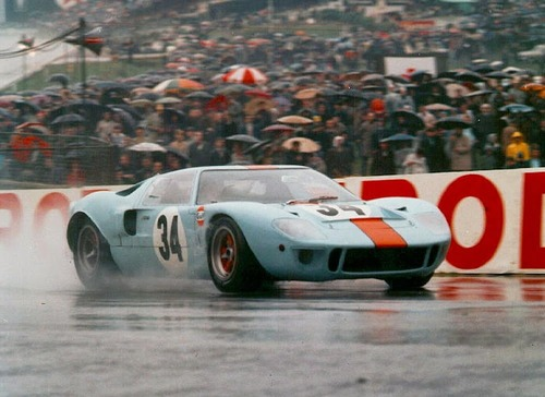 Gulf Racing, una livrea senza tempo