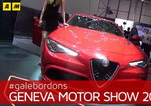 Alfa Romeo Giulia VS Giulia Quadrifoglio al Salone di Ginevra 2016 [Video]