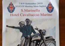 Moto inglesi a Santa Marinella