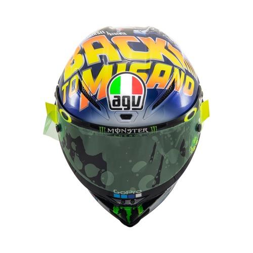 MotoGP 2018. GP Misano, il casco di Valentino (4)