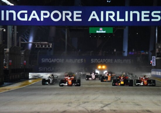 F1: orari TV Sky e TV8 del GP di Singapore 2018