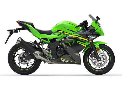 Kawasaki Ninja 125 e Z125: prime foto e dati (4)