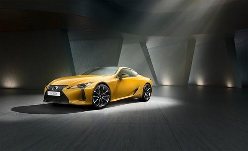 Lexus LC Hybrid, arriva la Yellow Edition