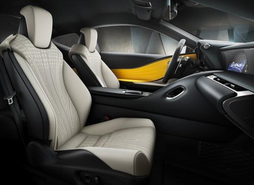 Lexus LC Hybrid, arriva la Yellow Edition (5)