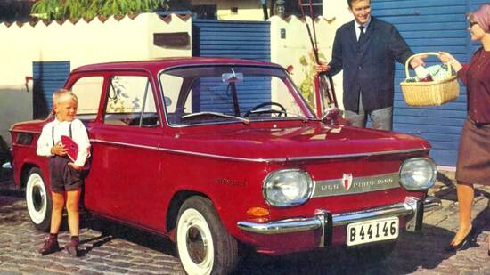La NSU Prinz nasce nel 1958 ma dieci anni dopo gode di immensa popolarità: nel '68 è la vettura straniera più venduta in Italia