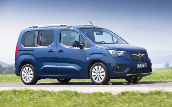 Il nuovo Opel Combo Life