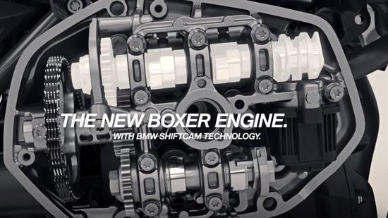 Un dettaglio del nuovo motore