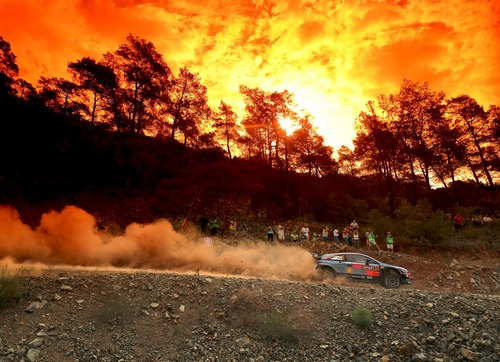 WRC18 Turchia. Duello di Pietre. Mikkelsen (Hyundai) il primo nome (7)