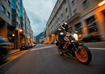 KTM Orange Days, test ride per la gamma street