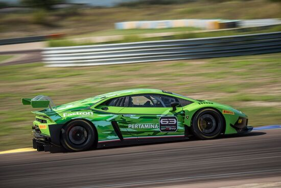 La Lamborghini Huracan GT3 Evo