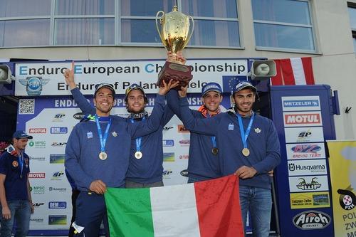 Maglia Azzurra: l'Italia vince l'Europeo Enduro per Nazioni (2)