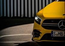 Mercedes-AMG A 35, le prime foto della nuova versione sportiva