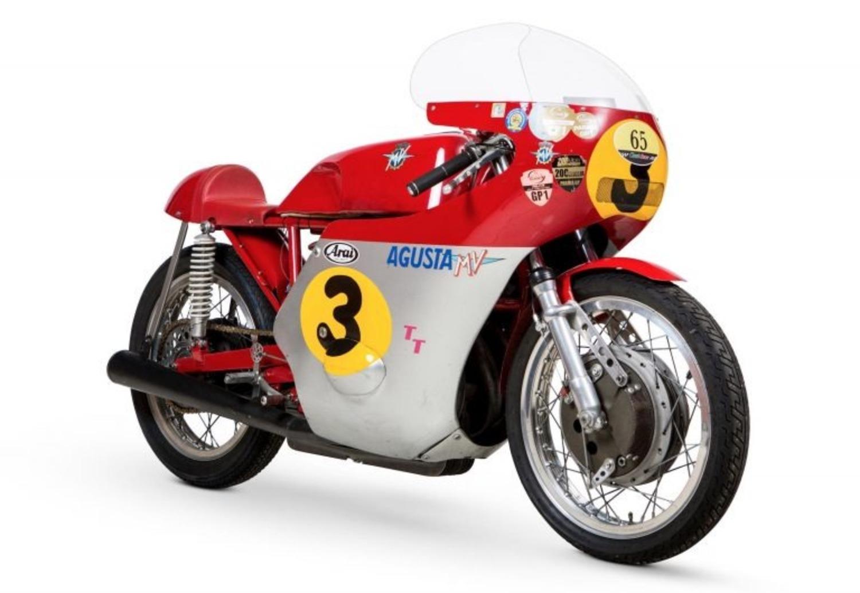 MV Agusta, all'asta la leggendaria 3 cilindri che corse nel 1973