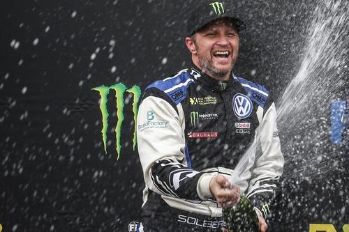 WRC: Petter Solberg al Rally di Spagna con la Volkswagen Polo GTI R5 (2)