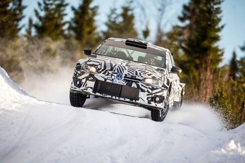 WRC: Petter Solberg al Rally di Spagna con la Volkswagen Polo GTI R5 (6)