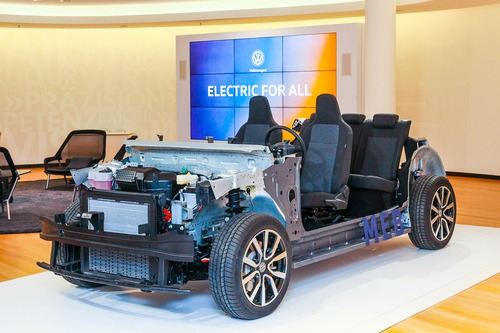 Volkswagen Electric for All, Il pianale MEB (5)