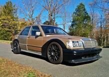 Frankenstein Benz: quando la 190E si risveglia C63 AMG [video]