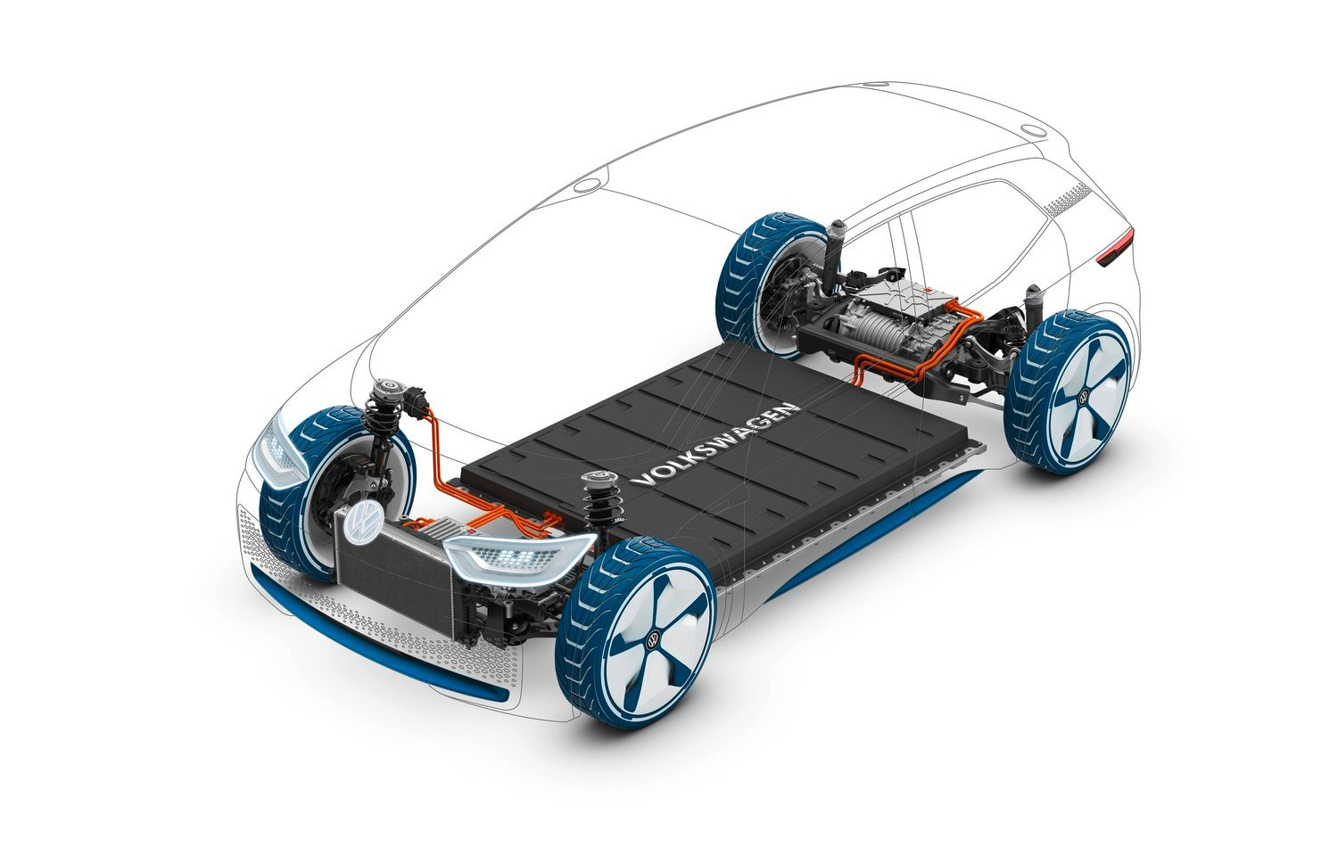 VW Electric for all, Le batterie delle ID su base MEB