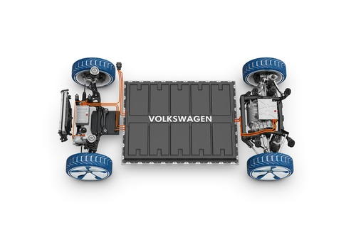VW Electric for all, Le batterie delle ID su base MEB (6)