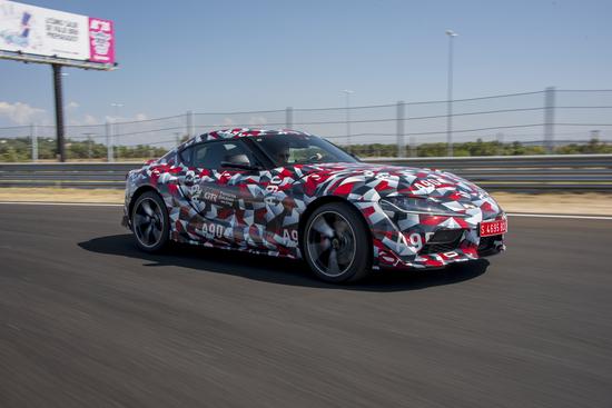 Il muletto della nuova Toyota Supra