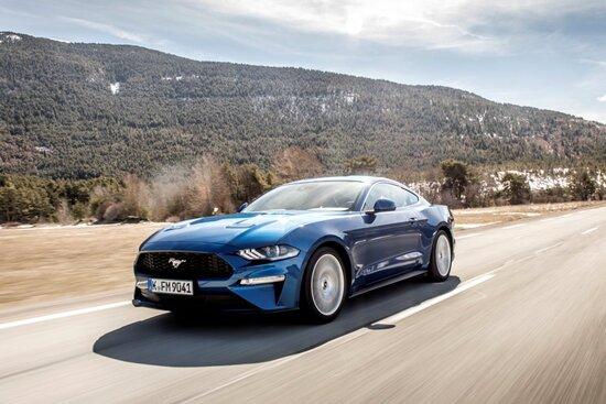 La Ford Mustang 2018