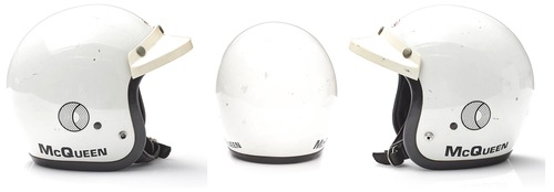 Steve McQueen, all'asta il suo casco Bell