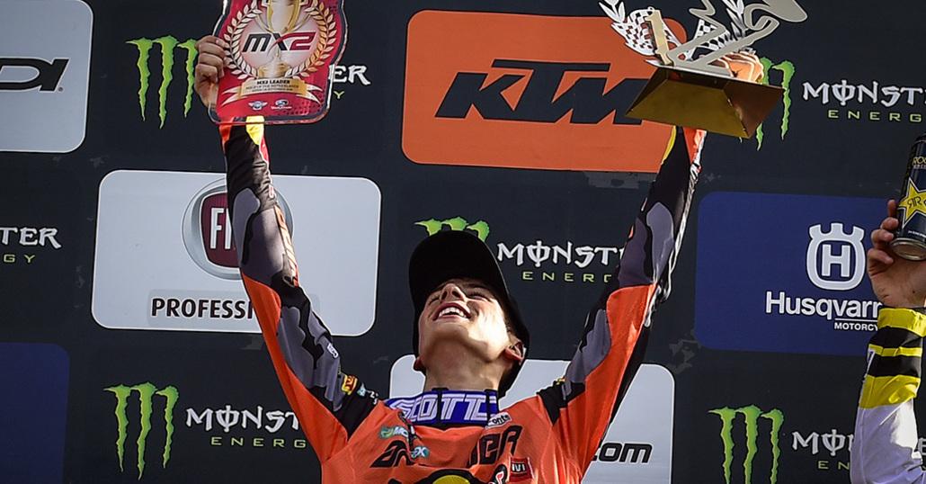 MX 2018. Jonass out, Prado campione MX2