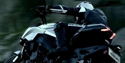 Suzuki 1000 Katana 2019: prime immagini dal Teaser  (4)