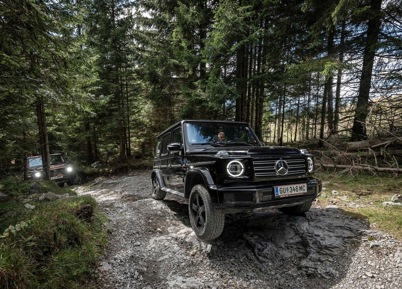 Nuova Mercedes-Benz Classe G 2018: icona pura ma anche versatile