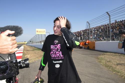 Ana Carrasco, la prima campionessa del motociclismo (4)