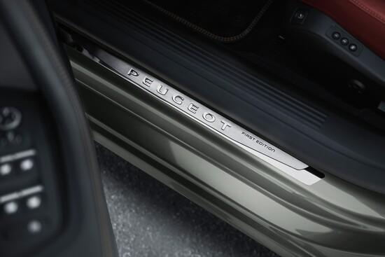 Dettagli curati per la Peugeot 508 SW First Edition al Salone di Parigi 2018