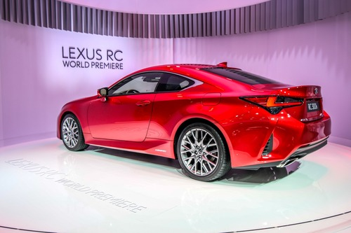 Lexus RC coupé al Salone di Parigi 2018 (3)