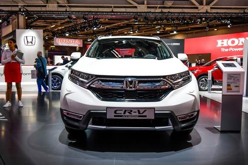 Honda CR-V Hybrid al Salone di Parigi 2018 (2)