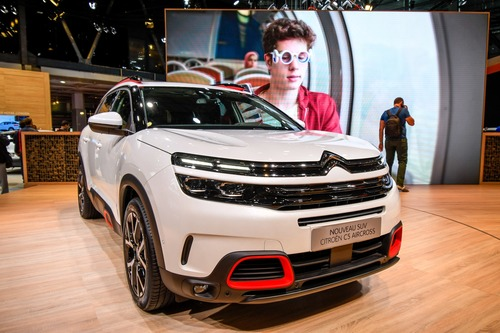 Citroën C5 Aircross 71° N Limited Edition al Salone di Parigi 2018 (6)