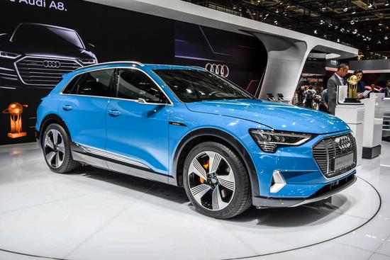 La nuova Audi e-tron al Salone di Parigi 2018