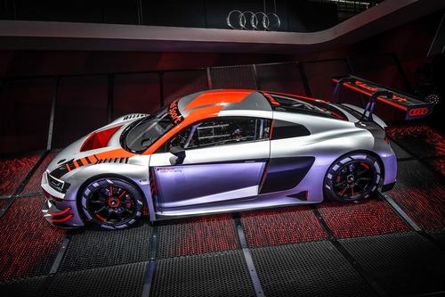 Nuova Audi R8 LMS GT3 al Salone di Parigi 2018 [Video] (4)
