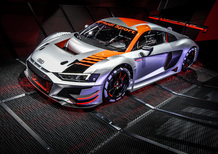 Nuova Audi R8 LMS GT3 al Salone di Parigi 2018 [Video]