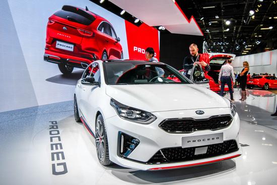 La nuova Kia ProCeed, presentata dal costruttore coreano come una shooting brake familiare
