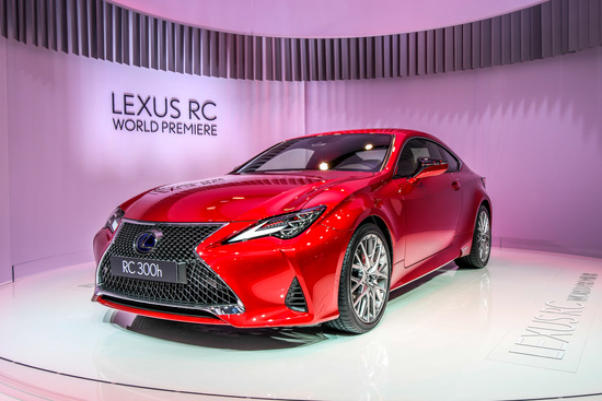 Lexus RC Coupé al Salone di Parigi 2018