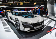 Audi PB18 e-tron al Salone di Parigi 2018 [Video]