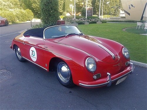 Porsche 356 Speedster, Piccola regina over60 (5)