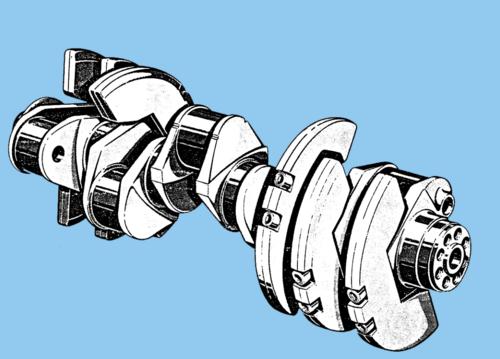 Tecnica del motore: come sono fatti gli alberi a gomiti  (2)