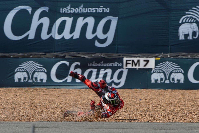 MotoGP 2018. Lorenzo: Caduto per un problema tecnico
