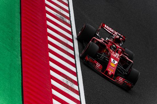 Sebastian Vettel a Suzuka scatterà dall'ottava posizione in griglia