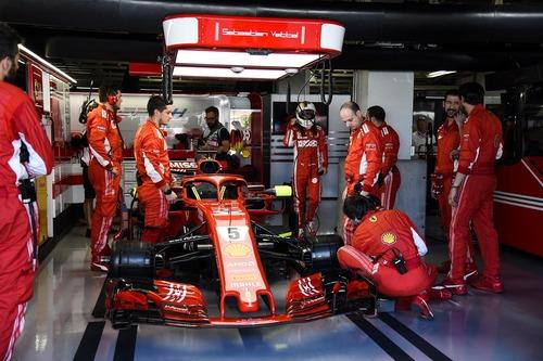 F1, GP Giappone 2018: Ferrari, i sogni svaniscono all'alba (6)