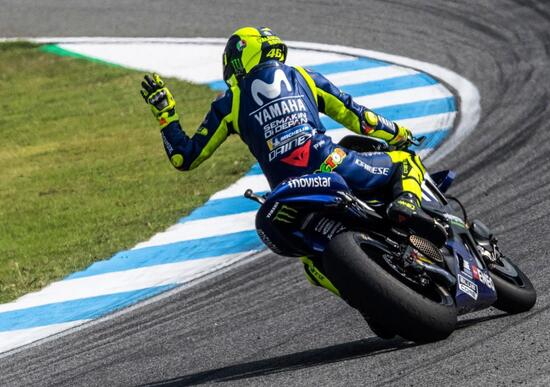 MotoGP 2018. Rossi: Non bisogna accontentarsi di un buon risultato