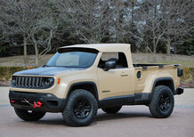 Jeep Renegade Comanche, la Renegade pick up