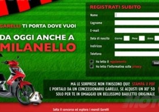 Concorso online Garelli e A.C. Milan